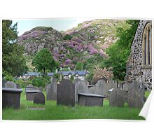 Beddgelert Cemetery  North Wales Poster