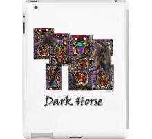 Walking Horse 2 Dark Horse iPad Case/Skin