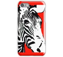 Red Zebra - iPhone Case iPhone Case/Skin