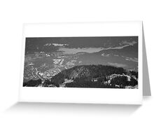 Mountain Landscape 11 Canada  Greeting Card