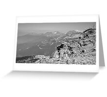 Mountain Landscape 10 Canada  Greeting Card