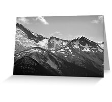 Mountain Landscape 6 Canada  Greeting Card