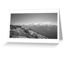 Mountain Landscape 3 Canada  Greeting Card
