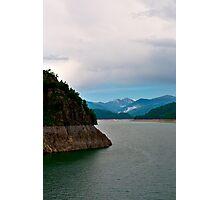 Fagaras mountains,dam Photographic Print