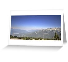 Mountain Landscape 24 Canada  Greeting Card