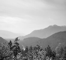 Mountain Landscape 2 Canada  by Darren Bailey LRPS