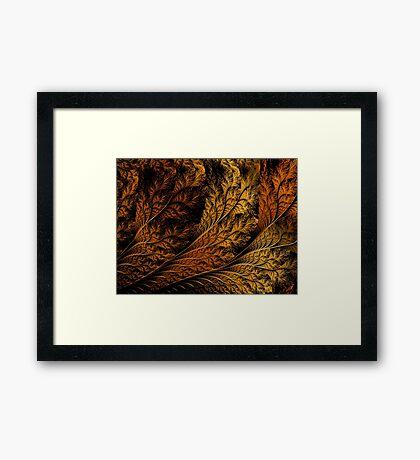 Breach-Autumn Leaf Framed Print