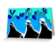 Pigeons! Greeting Card