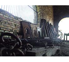 Cast Iron Pieces Photographic Print
