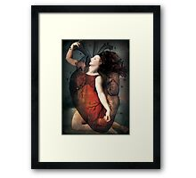 With all my heart Framed Print