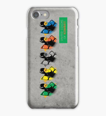United colors of Kombat iPhone Case/Skin