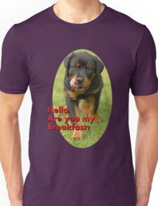 Hello Are You Breakfast Unisex T-Shirt