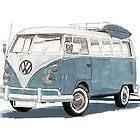 Volkswagen Transport by RikReimert
