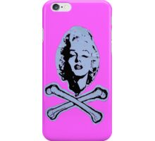 """R.I.P. Marilyn"" (pink) - phone iPhone Case/Skin"