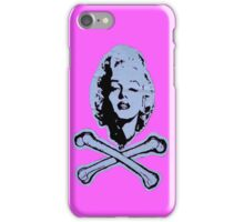 """""""R.I.P. Marilyn"""" (pink) - phone iPhone Case/Skin"""