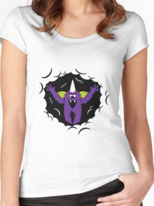 Purple People Eater Women's Fitted Scoop T-Shirt