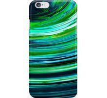 green swish iPhone Case/Skin