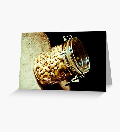 Nuts...: On feature work Greeting Card