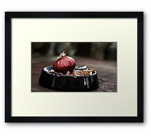 Needs more salt Framed Print
