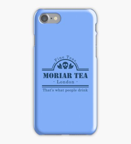 MoriarTea Blue iPhone Case/Skin