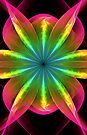Flower of the Rainbow by Georgia Wild