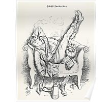 Adolf Oberlander Hochst sonderbar 1884 Poster
