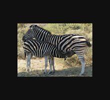 Female zebra and foal Unisex T-Shirt