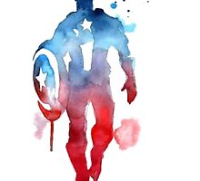 Captain America: Paint by Geralts