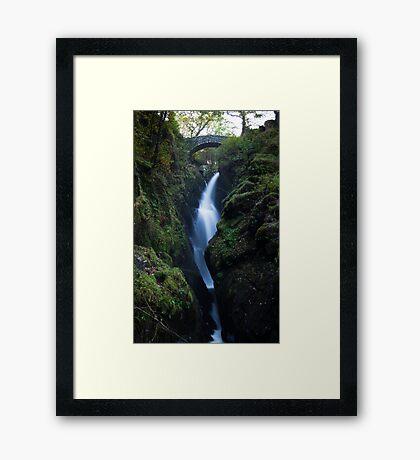 Aira Force Waterfall, Lake District - Cumbria Framed Print