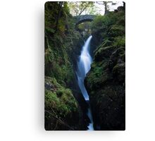 Aira Force Waterfall, Lake District - Cumbria Canvas Print