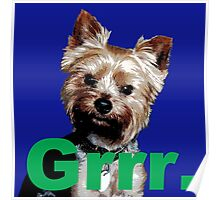 "Oni Says, ""Grrr."" Poster"