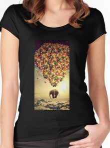 Elephant Up Women's Fitted Scoop T-Shirt