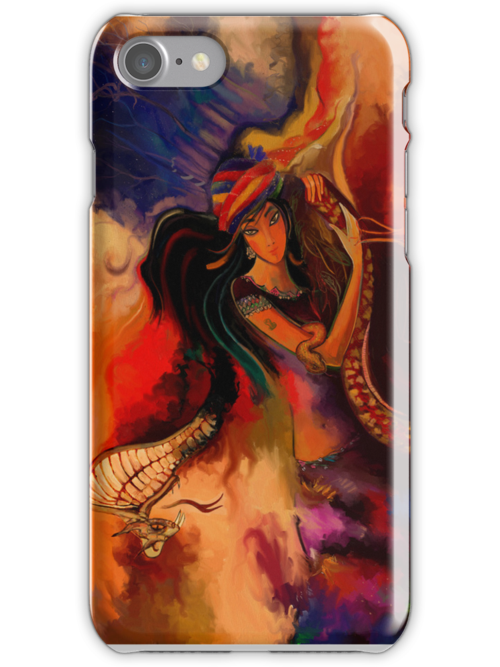 The charmer - as iphon case  by artsmitten