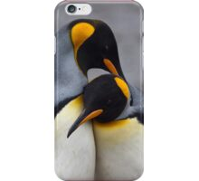 I Wuv You (King Penguins) iPhone Case/Skin