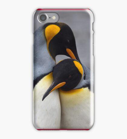 I Wuv You (King Penguins) iPhone Case/Skin