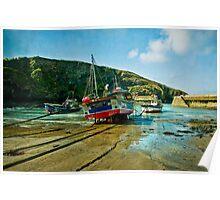 Port Isaac, Cornwall Poster