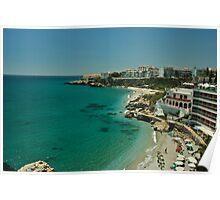 nerja beach Poster