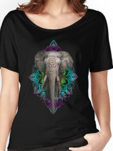 Sacred Elephant Women's Relaxed Fit T-Shirt