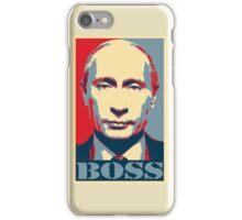 Vladimir Putin, obama poster, boss iPhone Case/Skin