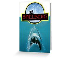 Spielberg 3 Films Greeting Card