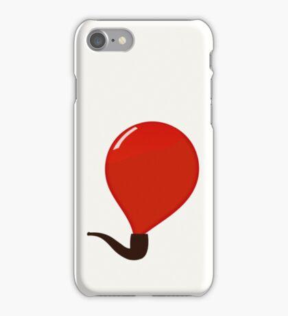 Ceci n'est pas une bulle iPhone Case/Skin