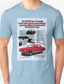 Ford Cortina Crusader Advert T-Shirt