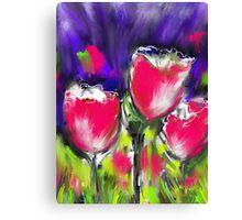 Tulip Types  Canvas Print