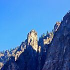 Cathedral Peaks-Yosemite by Tamara Valjean