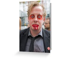 World Zombie Day  Greeting Card