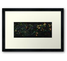 flowers. Framed Print