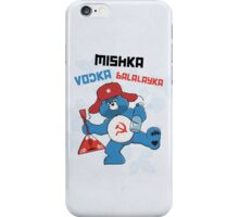 Mishka, Vodka, Balalayka! iPhone Case/Skin