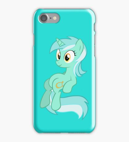 Lyra Chilling (iPhone Case) - My Little Pony Friendship is Magic iPhone Case/Skin