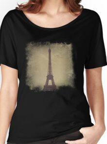 Vintage Eiffel Tower Women's Relaxed Fit T-Shirt