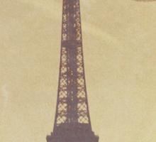 Vintage Eiffel Tower Sticker